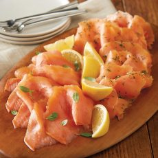 SCOTTISH SLICED SMOKED SALMON SELECTION