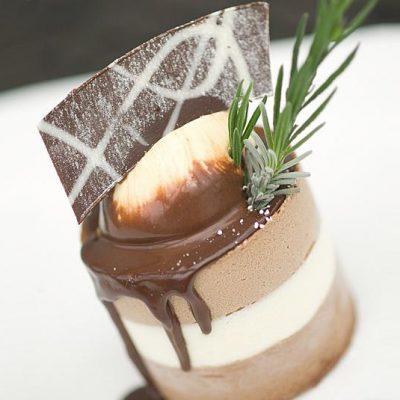 TRIO OF CHOCOLATE