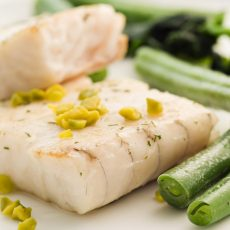NORTH ATLANTIC HALIBUT STEAKS