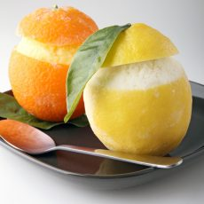 ORANGE & LEMON SORBET