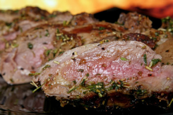 ROSEMARY AND GARLIC LAMB