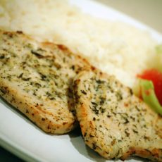 STILTON & SOUR CREAM TURKEY BREAST