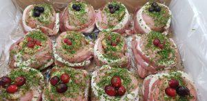 Turkey Roulades are good tasting foods